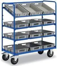 Etagenwagen für Behälter