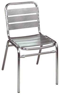 Bistro Aluminium-Stuhl