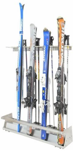 Skiständer aus Edelstahl