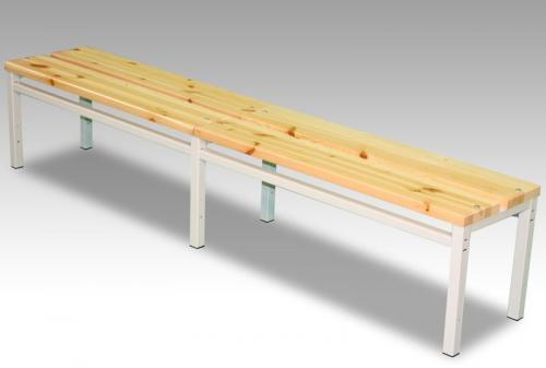 Freistehende Sitzbank - 2000mm